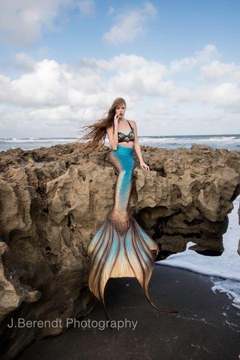 Mermaid Hyli - finfolk productions mermaid tail