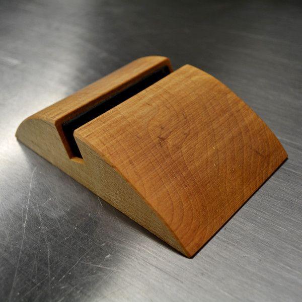 Lipper International 1886 Bamboo Adjustable Ipad Stand, Brown