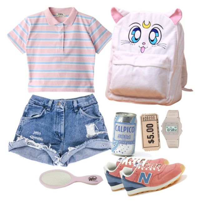 """calpico"" by y-a-h-e-l on Polyvore featuring New Balance"