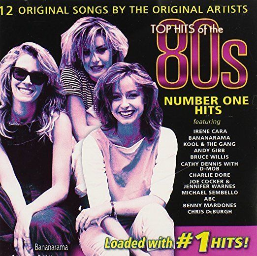 top hits of the 80s  number one hits CD free shipping