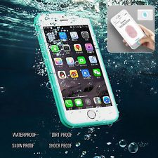 Impermeable a prueba de impactos Híbrido de Goma Tpu Teléfono Estuche Cubierta para iPhone 6 6s Plus