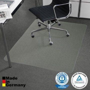 Bodenschutzmatte PET ®Performa für Teppichböden mit TÜV und Blauer Engel – 4 Größen wählbar