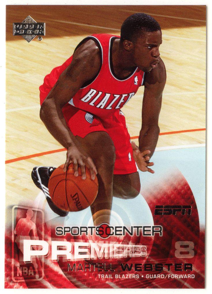 Martell Webster RC # 106 - 2005-06 Upper Deck ESPN Basketball NBA Rookie