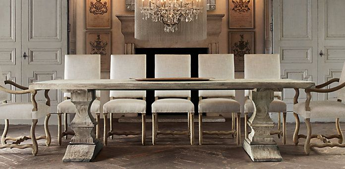 dumont dining tables restoration hardware interesting interiors