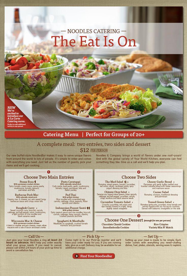 Noodles & Company: Noodles Catering
