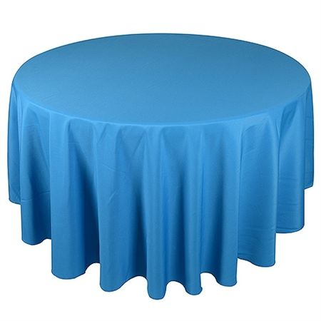Turquoise 90 Inch Round Tablecloths