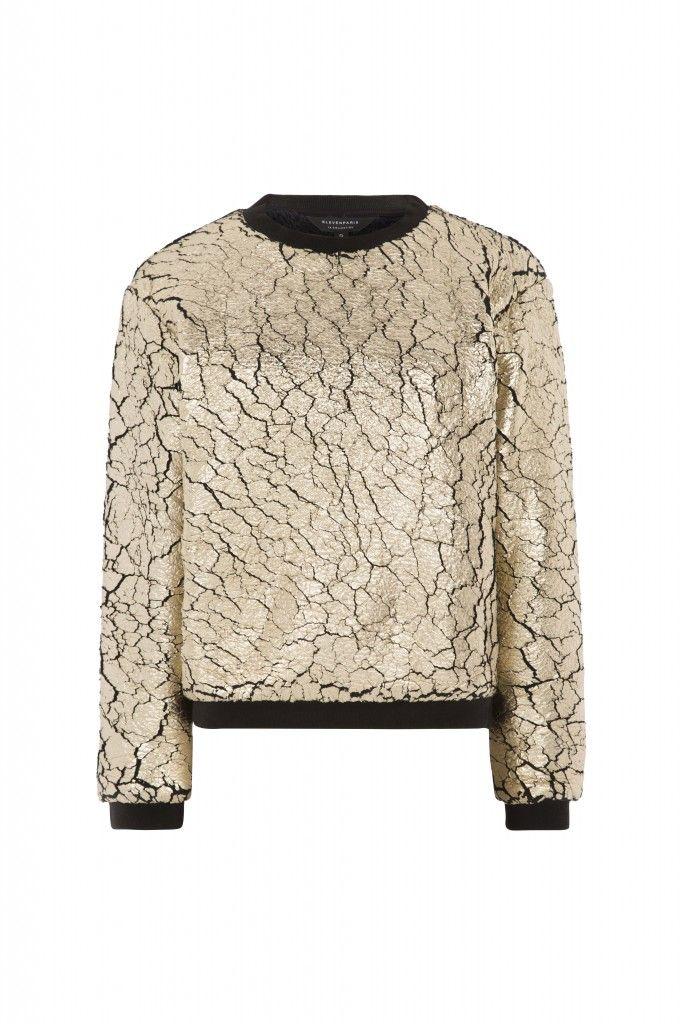 ELEVENPARIS FW15/16 gold sweater