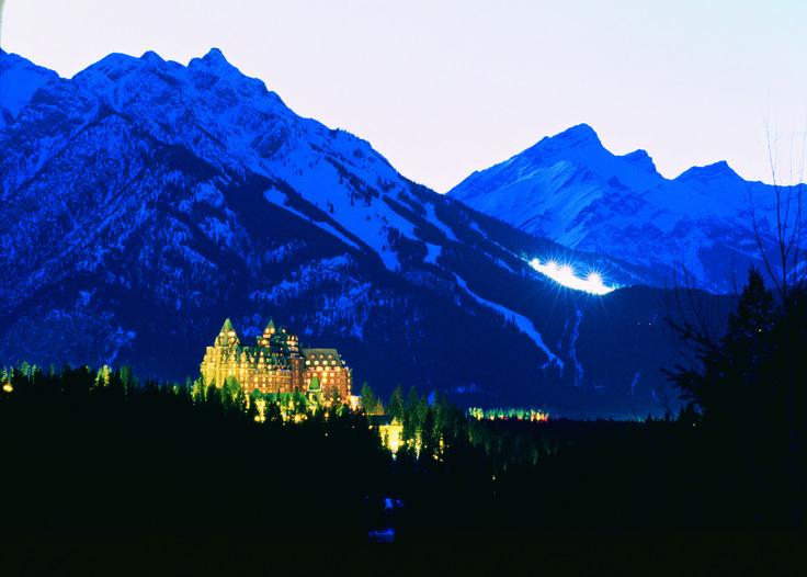 Magical Banff Ski Resort : Ski Season officially opens November 28th : Banff Horizons Travel #banff #travel #canada #holiday #ski #skiing #resort