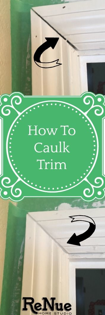 Learn a quick tutorial that will teach you how to Caulk Trim or Wood.   Tutorials, DIY, Do It Yourself, Caulking, Caulk, Trims, Bathroom, Moulding, Molding, Mouldings, Moldings, How To, Caulk Gun, Renovation, Paint, Painted, Benjamin Moore, Sherwin Williams, Painter, Renovation, Reno, Remodel, Remodeling, Remodels, Inspo, Inspiration, Ideas, Idea, Home, House