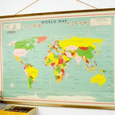 les 25 meilleures id es de la cat gorie carte du monde vintage sur pinterest art carte du. Black Bedroom Furniture Sets. Home Design Ideas