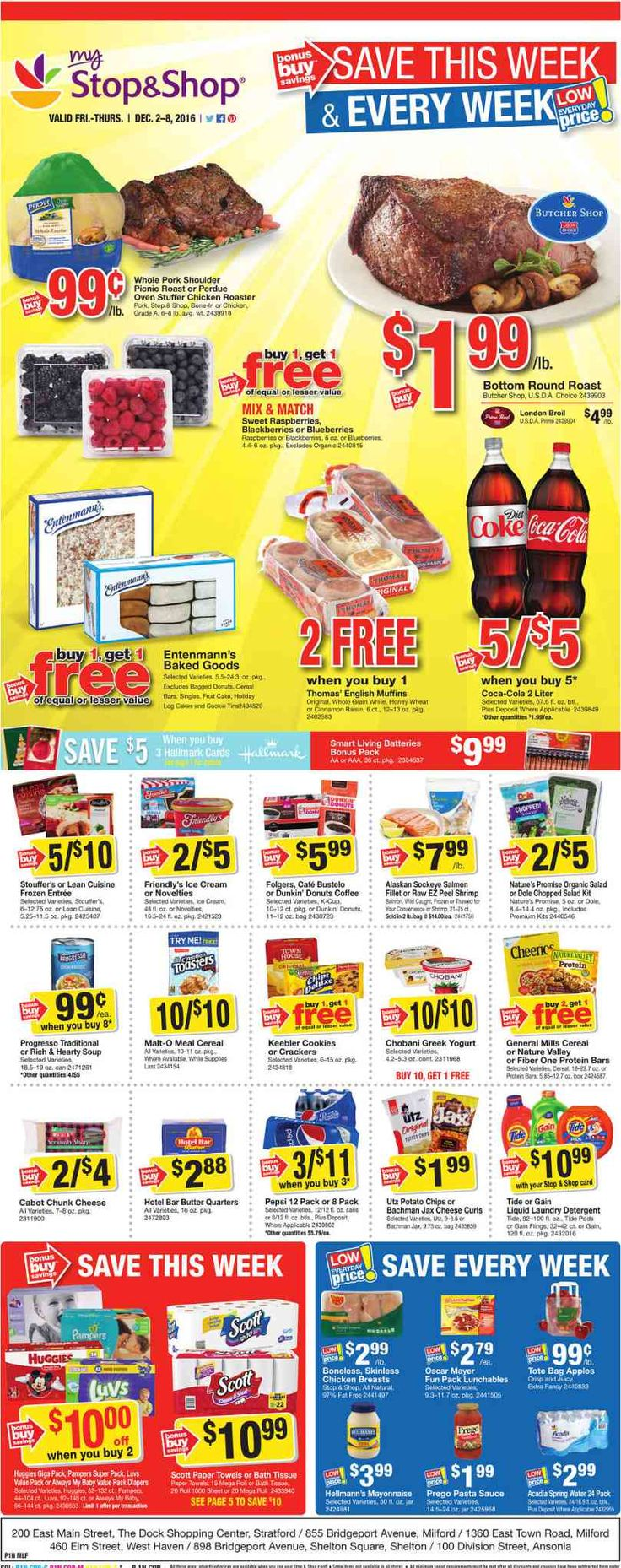 Stop and Shop Circular December 2 - 8, 2016 - http://www.olcatalog.com/grocery/stop-and-shop-circular.html