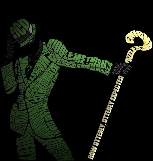 The Riddler <<< I really love this guy. As one who suffers from moderate OCD, I can really relate to him. He didn't have to be a villain. That makes me sad.