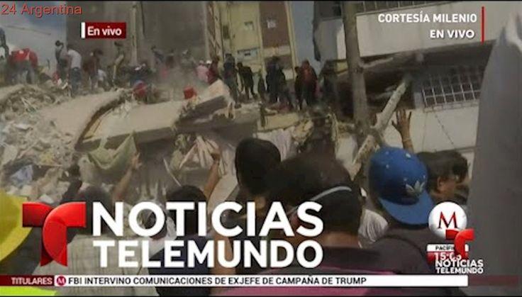 Fuerte sismo de 7.1 grados sacude a México | Noticias | Noticias Telemundo