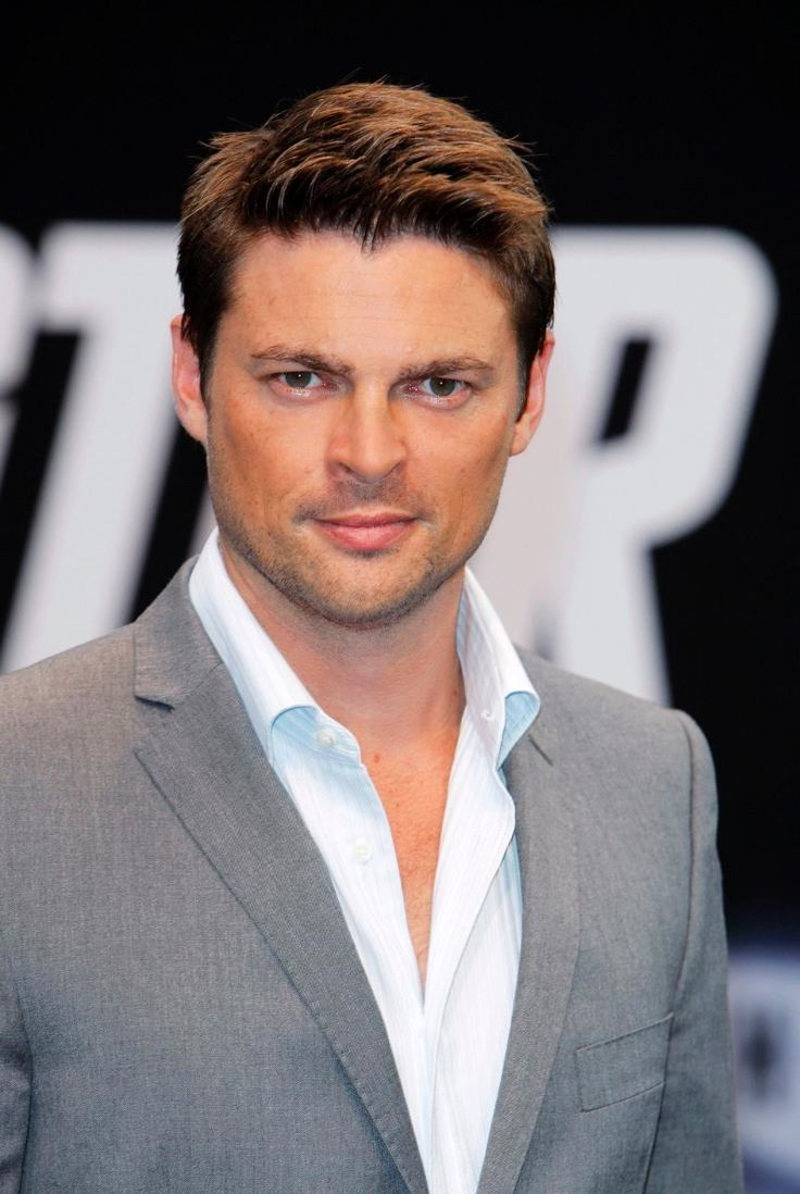 Karl Urban  - I have decided he just may be the most perfectly gorgeous man ever.