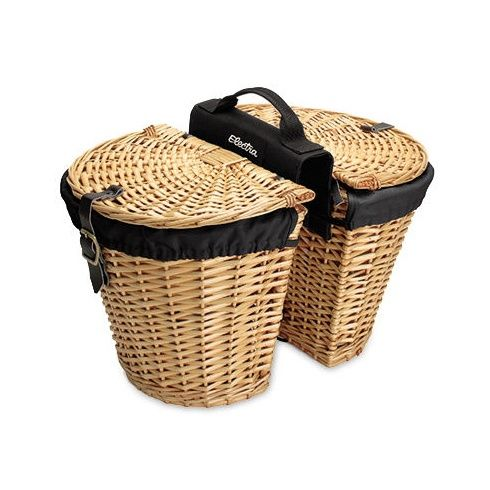 Electra Wicker W Liners Rear Basket Wicker Bicycle