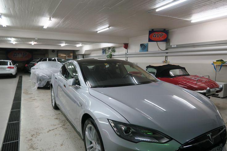 Lackversiegelung, markenspezifisch für Tesla Fahrzeuge