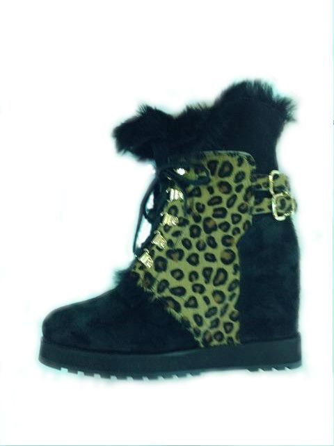These were first on our feet when they arrived. Suede and Pony sheepskin lined wedge ankle boot. Beautiful ! Only at www.shoesatgoody2shoes.co.uk