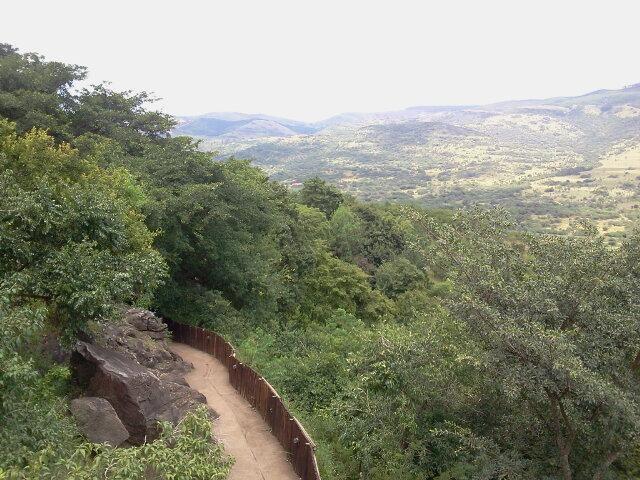 View from top of Sudwala Caves, Mpumalanga