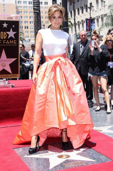 Jennifer Lopez - Jennifer Lopez Gets a Star on the Walk of Fame