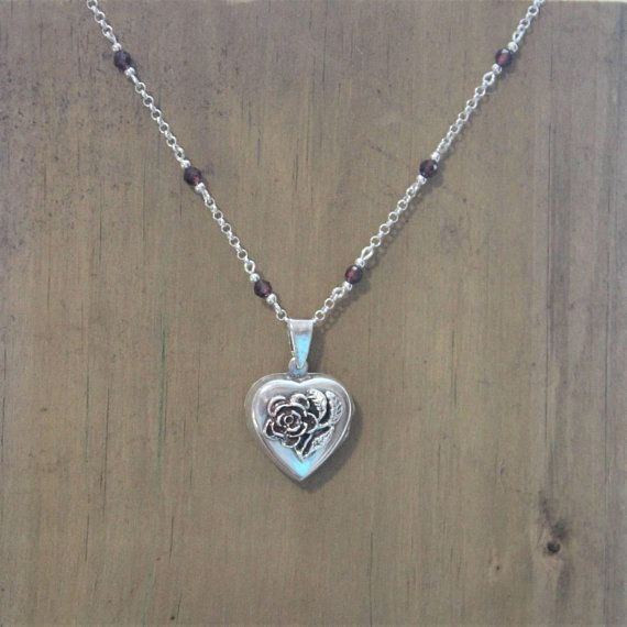 Check out this item in my Etsy shop https://www.etsy.com/ca/listing/591522314/locket-necklace-sterling-silver-chain