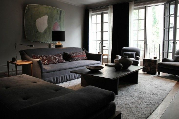 A Flemish  style West Village Home by Richard Ostell / My Little Home Blog