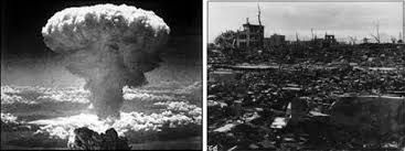 On this Day. 71 years ago. Hirishima was bombed. :( The city has marked the event with a one-minute silence at 8.15am local time on Saturday, recalling the exact time on August 6, 1945 when the US Air Force's B-29 Enola Gay dropped ' Little Boy' - the world's first nuclear bomb.