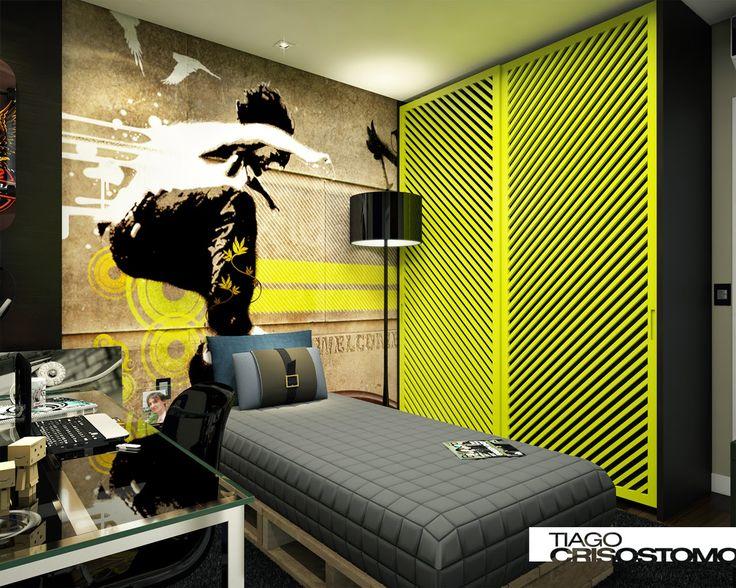 Vamos ver algumas dicas de decoração para o quarto de adolescente masculino e feminino, escolha o seu: