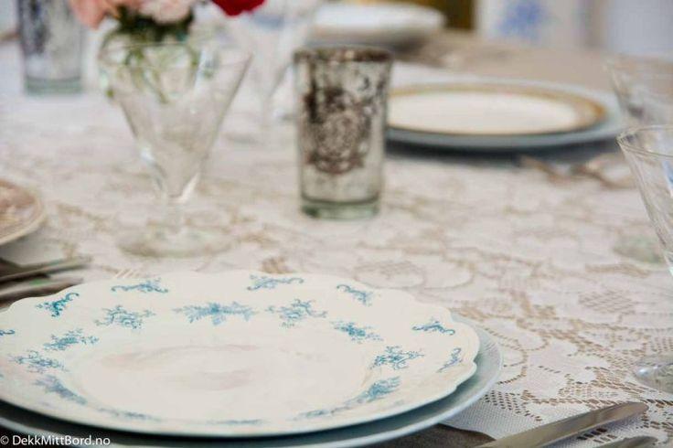 Lyseblå herskaplig - Delicious light blue #borddekking #table setting #wedding #party #selskap #bryllup #konfirmasjon #dåp