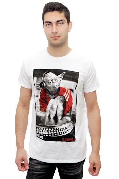 Miesten DJ Yoda T-paita | Cybershop