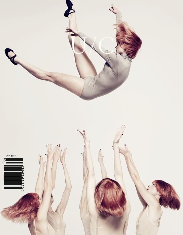 U/C Magazine cover | Magazine Cover: Graphic Design, Typography, Photography | design inspiration @ diary of design |