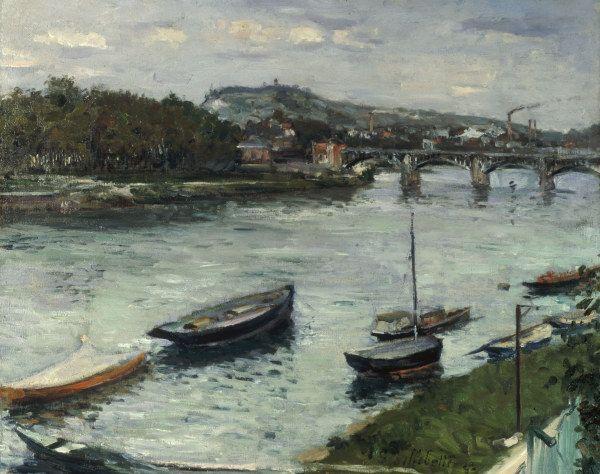 Gustave Caillebotte-Ufer u.Brücke Argenteuil