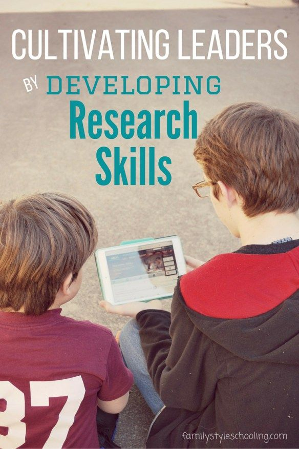 developing research skills Developing research and information literacy by:  one of the first skills in developing information literacy is being able to tell the difference between fact and.