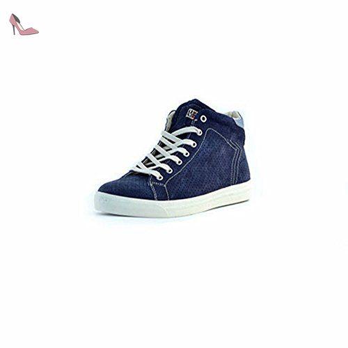 Napapijri FOOTWEAR Asker, Sneakers basses homme - Bleu - Blau (blue marine N65), 41 EU