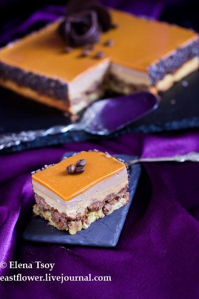 Елена - Кофейно-карамельный торт