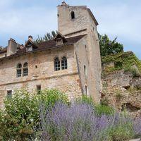La maison d'André Breton à Saint-Cirq-Lapopie dans le Lot, France
