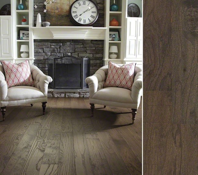 HGTV HOME Flooring By Shaw Hardwood In A Rustic, Reclaimed