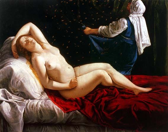 Category:Artemisia Gentileschi - Wikimedia Commons; Danae