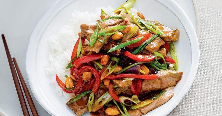 Try this take on a famous Chinese dish which uses tender lamb and capsicum.