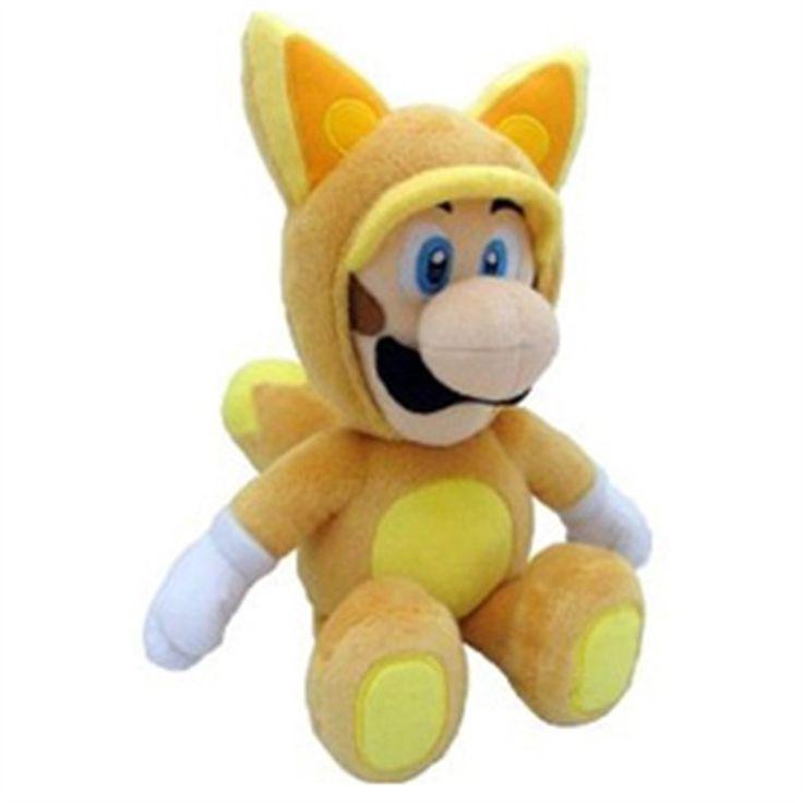 FOX LUIGI Direttamente da Super Mario 3D Land, il mitico Luigi con il costume Tanooki (versione volpe), ritratto in un morbidissimo peluche da 22 cm. Materiali di qualità, licenza ufficiale Nintendo. - Maggiori dettagli: http://www.thegameshop.it/it/peluche/524-nintendo-fox-luigi-plush-22-cm-3760116328685.html#sthash.J3vQBfAi.dpuf