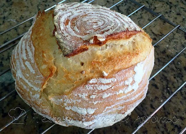 Testado, Provado e Aprovado!: NO-KNEAD BREAD (Pão sem Sova) - com Fermentação Na...