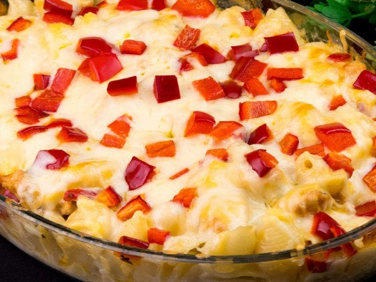 Paste cu piept de pui și mozzarella – o savoare mai presus de cuvinte!
