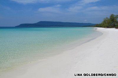 Southwestern beach, Koh Rong