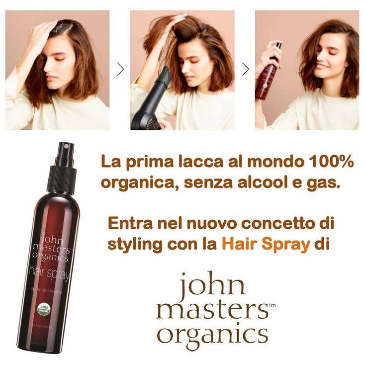 Tutti conoscono le lacche, ma una come la Hair Spray di John Masters Organics, composta solo di estratti organici vegetali, vitamine degli agrumi e priva di gas non si era davvero mai vista. Adatta a tutti i tipi di capelli, senza mai appesantirli, per un effetto WOW!