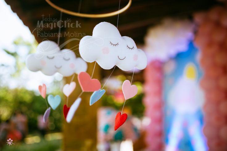 ma festa com este tema lindo, não poderia ter um resultado diferente. Choveu amor, aliás, choveu muito, muito amor para celebrar o primeiro ...