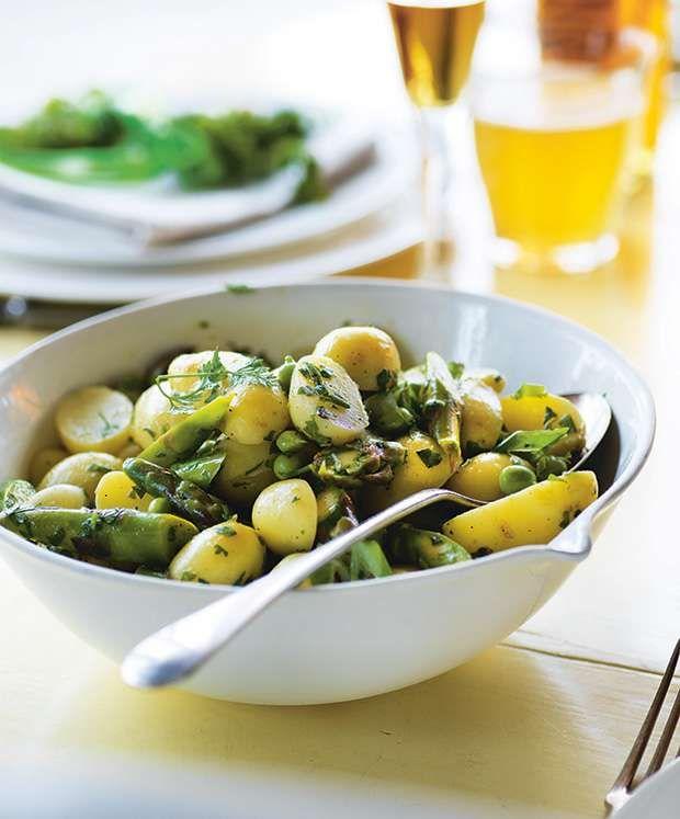 Danish New Potato And Asparagus Salad For Easter Potatoe Salad Recipe Potato Salad Food