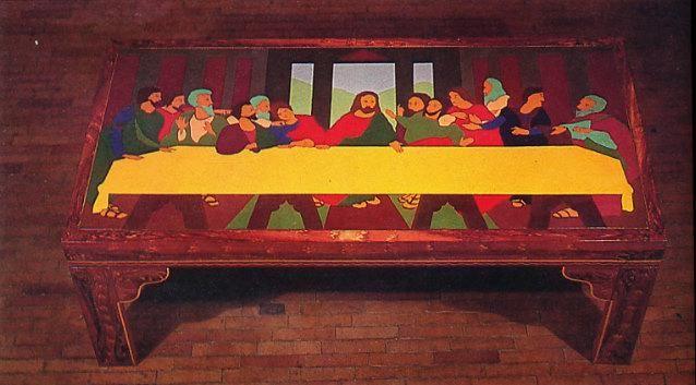 Beatriz González, La última mesa, 1970