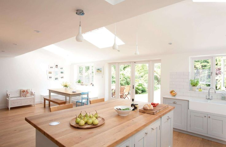 Extending for a classic family kitchen | Real Homes