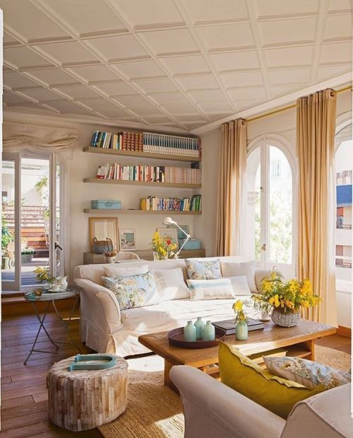 Die 25+ besten Peinture salon moderne Ideen auf Pinterest - wohnzimmer design beispielewohnzimmer ideen rote couch