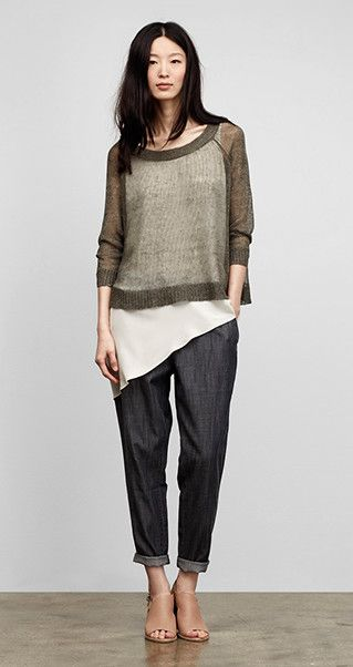 Our Favorite Spring Looks & Styles for Women | EILEEN FISHER. Cute spring look.