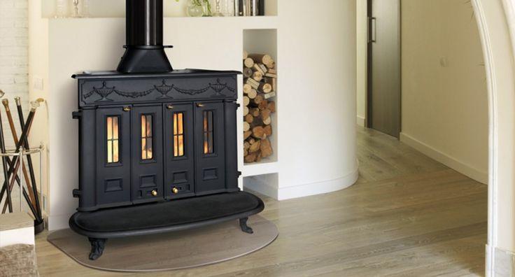 Las 25 mejores ideas sobre chimenea de hierro fundido en - Estufas de lena de hierro ...